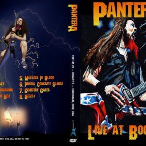 Pantera 1991-05-26 Cincinnati OH DVD