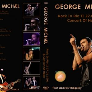 George Michael 1991-01-27 Rock In Rio II Concert Of Hope DVD