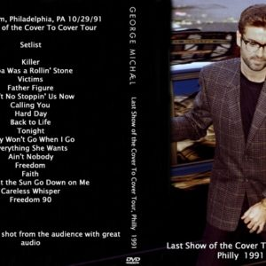 George Michael 1991 Last Show of the Cover To Cover Tour DVD