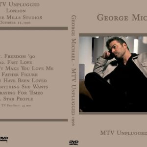 George Michael 1996-10-11 MTV Unplugged, London DVD