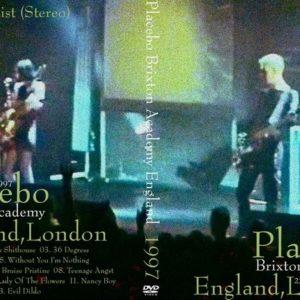 Placebo 1997-05-22 Brixton Academy, UK DVD