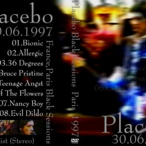 Placebo 1997 The Black Sessions, France DVD
