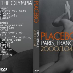 Placebo 2000-11-04 Olympia Paris France DVD
