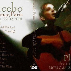 Placebo 2001-02-22 MCM Cafe, Paris, France DVD