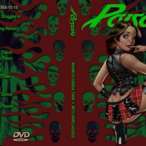 Poison 1988-10-15 Miami, FL + 1990-12-13 MTV Studios, New York, NY DVD