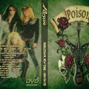 Poison 1989-06-02 Middletown Fairgrounds, Middletown, NY DVD