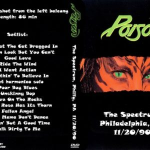 Poison 1990-11-20 The Spectrum, Philadelphia, PA DVD