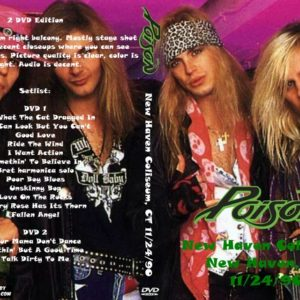 Poison 1990-11-24 New Haven Coliseum, New Haven, CT 2 DVD