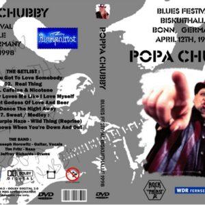 Popa Chubby 1998-04-12 Rockpalast Blues Festival, Bonn, Germany DVD