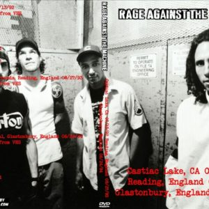 Rage Against The Machine 1992-07-13 Castiac Lake, CA + 1993-08-27 Reading, England + 1994-06-24 Glastonbury, England DVD