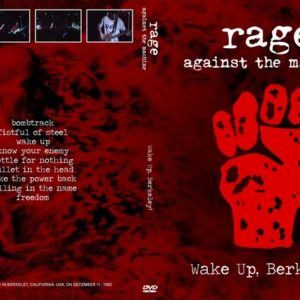 Rage Against The Machine 1992-12-11 Berkeley CA DVD