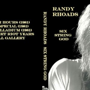 Randy Rhoads 1981 Six String God DVD