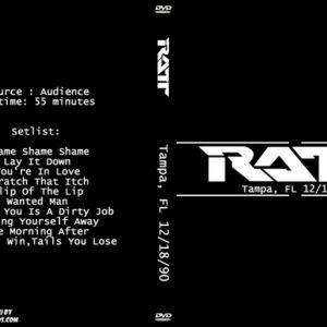 Ratt 1990-12-18 Tampa, FL DVD