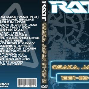 Ratt 1991-02-15 Osaka Japan 2 DVD