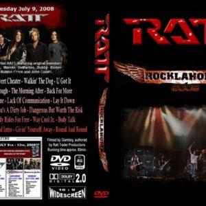 Ratt 2008-07-09 Rocklahoma, Pryor OK DVD