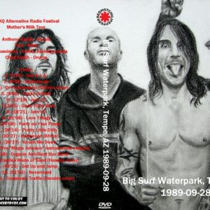 Red Hot Chili Peppers 1989-09-28 Big Surf Waterpark, Tempe, AZ DVD