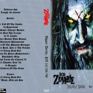 Rob Zombie 1998-10-26 Upper Derby, PA DVD