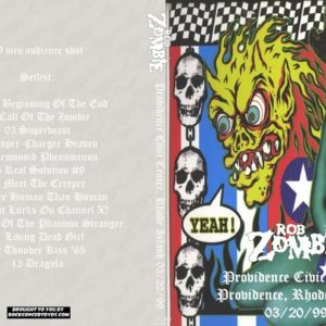 Rob Zombie 1999-03-20 Providence Civic Center, Rhode Island DVD