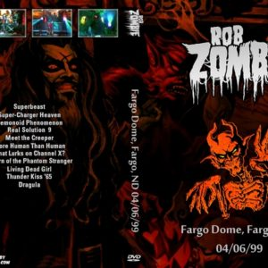 Rob Zombie 1999-04-06 Fargo Dome, Fargo, ND DVD