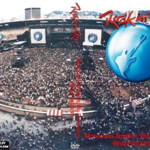 Rock In Rio 1991-01-23 Maracana Stadion, Rio De Janeiro, Brazil DVD