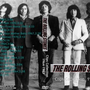 Rolling Stones - Clips Collection 1964-1983 DVD