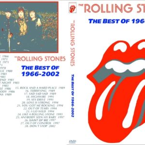 Rolling Stones - The Best of 1966-2002 Videos DVD