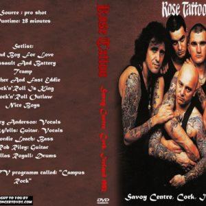 Rose Tattoo 1982 Savoy Centre, Cork, Ireland DVD