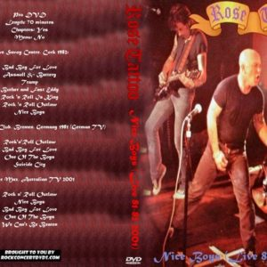 Rose Tattoo 2008 Nice Boys (Live 81-82-2001) DVD