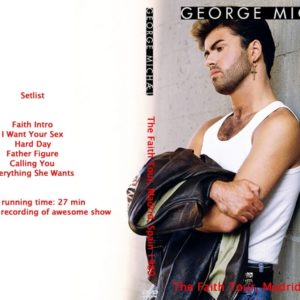 George Michael 1989-07-01 The Faith Tour, Madrid, Spain DVD