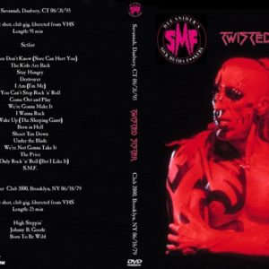 SMF 1995-08-31 Savannah, Danbury, CT + 1979-06-18 Twisted Sister Club 2000, Brooklyn, NY DVD