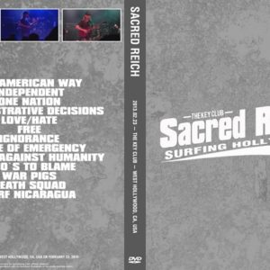 Sacred Reich 2013-02-23 West Hollywood CA DVD