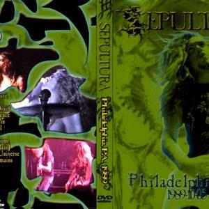 Sepultura 1989-11-05 Empire Rock Club, Philadelphia PA DVD