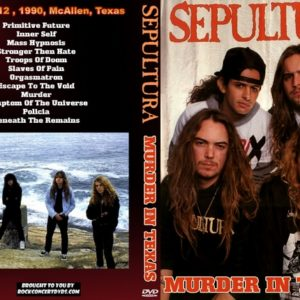 Sepultura 1990-12-12 McAllen, TX DVD