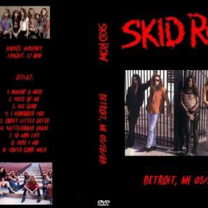Skid Row 1989-05-28 Detroit, MI DVD