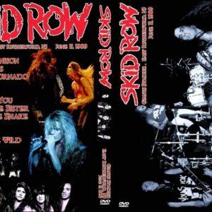 Skid Row 1989-06-11 Giants Stadium, East Rutherford, NJ DVD