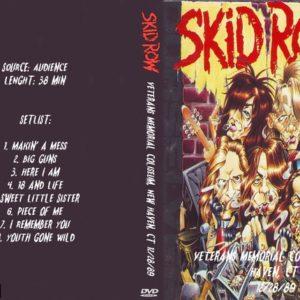 Skid Row 1989-12-28 Veterans Memorial Coliseum, New Haven, CT DVD