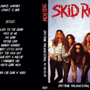 Skid Row 1991-06-13 Spectrum, Philadalelphia, PA DVD