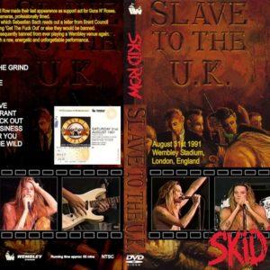 Skid Row 1991-08-31 Wembley Stadium, London, England DVD