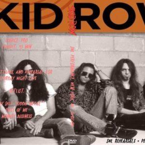 Skid Row 1991-11-01-02 SNL Performance, New York, NY DVD