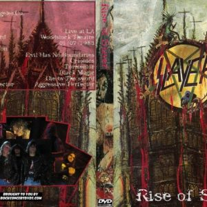 Slayer 1983-03-28 The Woodstock, Anaheim, CA + 1983-07-01 The Roxy, San Francisco, CA 2 DVD