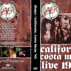 Slayer 1983-12-28 The Concert Factory, Costa Mesa, CA DVD