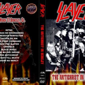 Slayer 1984-03-17 Ruthies Inn, Berkeley, CA DVD