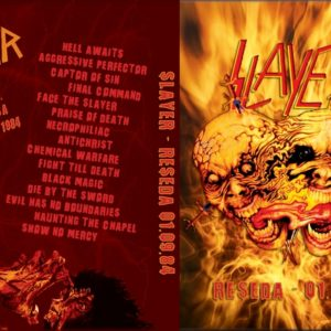 Slayer 1984-09-01 Reseda, CA DVD