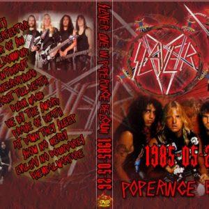 Slayer 1985-05-26 Heavy Sound Festival, Sportsfields, Poperinge, Belgium DVD