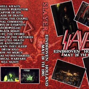 Slayer 1985-05-28 Dynamo Club, Eindhoven, Holland DVD