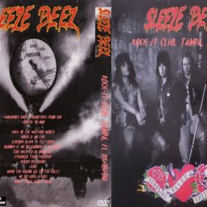 Sleeze Beez 1990-05-19 Rock-it Club, Tampa, FL DVD