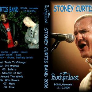 Stoney Curtis Band 2006-10-17 Harmonie, Bonn, Germany DVD