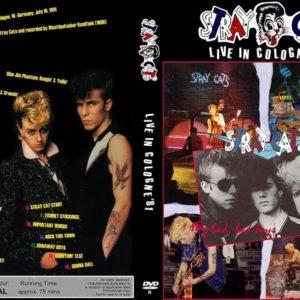 Stray Cats 1981-07-16 Sartory-Säle, Köln, Germany DVD