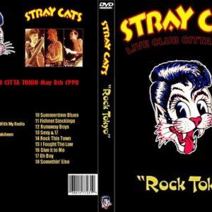 Stray Cats 1990-05-08 Club Citta, Toyko, Japan DVD