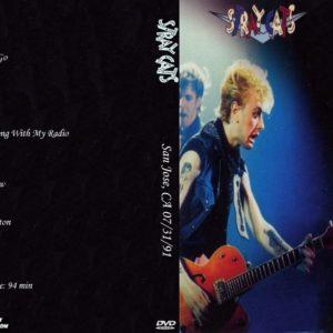 Stray Cats 1991-07-31 San Jose, CA DVD